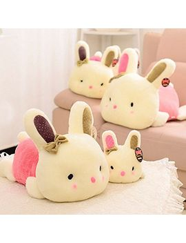 plush-doll-car-pillow-soft-toy-stuffed-animal-lovely-rabbit-cute-bunny-gift-pink by thailand