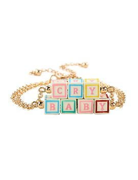 melanie-martinez-cry-baby-blocks-bracelet-set by hot-topic