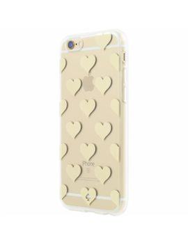 flexible-hardshell-case-for-apple®-iphone®-6-plus-and-6s-plus---clear_hearts-gold-foil by kate-spade-new-york