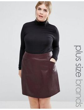 new-look-curve-long-sleeve-roll-neck-top by new-look-plus