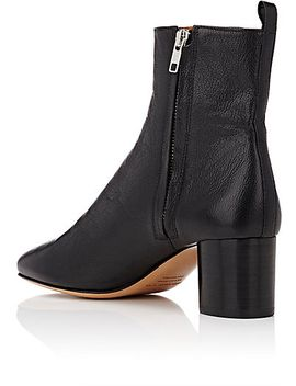 deyissa-leather-ankle-boots by isabel-marant