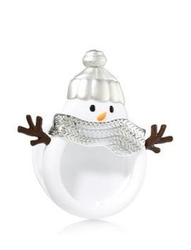 snowman-car-air-freshoner-visor-clip-snowman-bath-and-body-works-car-,closet,any-small-spaces-!!! by bath-and-body-works