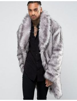asos-faux-fur-overcoat by asos