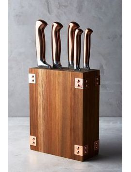 wood-&-copper-knife-block by anthropologie