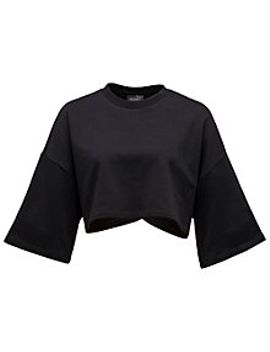 cropped-crew-neck-t-shirt by puma