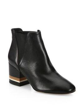 deblin-leather-block-heel-booties by diane-von-furstenberg