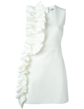 ruffle-detail-dress by msgm