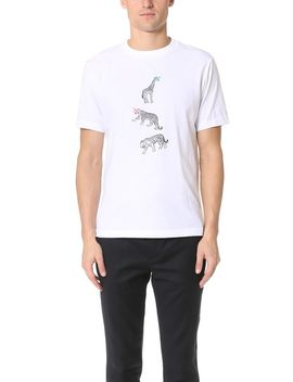 animal-print-regular-fit-tee by ps-by-paul-smith