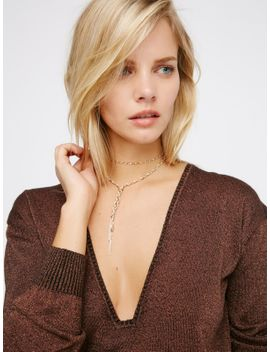 chloe-delicate-chain-bolo by free-people