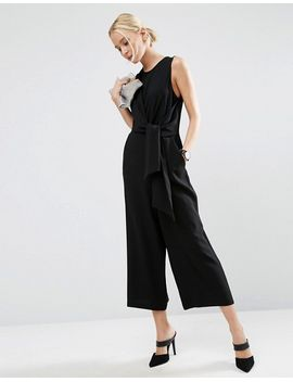 asos-tie-side-jumpsuit by asos-collection