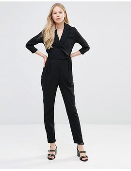 alter-tailored-wrap-front-jumpsuit-with-tie-belt by jumpsuit