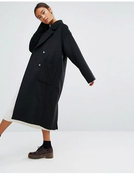 monki-double-breasted-over-coat by monki