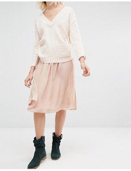 gat-rimon-topaz-pale-pink-skirt by gat-rimon