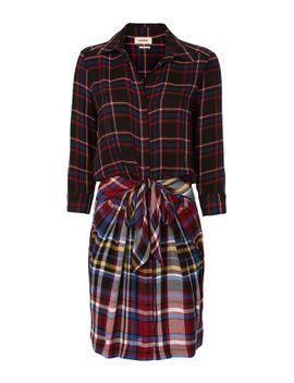 kylie-tie-waist-shirt-dress by lagence
