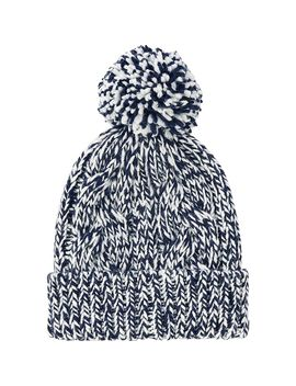 women-low-gauge-knit-beanie-(cable) by uniqlo