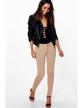 valentina-super-stretch-skinny-trousers by boohoo