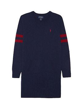 varsity-wool-dress-7-14-years by ralph-lauren