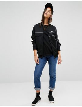 le-coq-sportif-bomber-jacket-with-piping by -le-coq-sportif