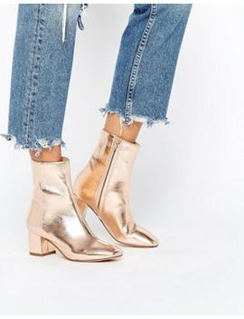 river-island-metallic-heeled-ankle-boot by river-island