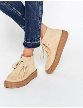 asos-–-anyan-–-creeper-stiefel-zum-schnüren by asos-collection