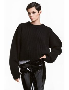 chunky-knit-wool-jumper by h&m