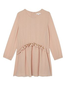 frill-crepe-dress-4-14-years by chloe