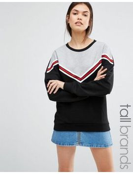 new-look-tall-varsity-sweat-top by new-look-tall