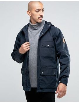 fjallraven-greenland-jacket-in-navy by fjallraven