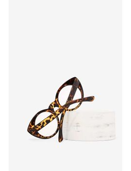 keep-it-catty-leopard-glasses by nasty-gal