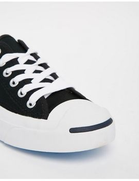 converse-jack-purcell-black-canvas-trainers by converse