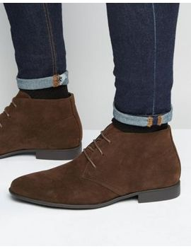 asos-chukka-boots-in-brown-faux-suede by asos