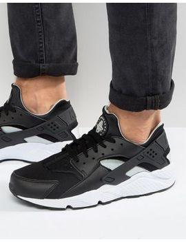nike-air-huarache-run-sneakers-in-black-318429-029 by nike