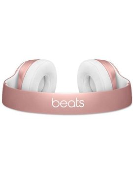 beats-by-dr-dre-solo2-wireless-headphones,-rose-gold by beats-by-dr-dre