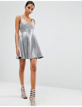 asos-night-high-apex-bonded-mini-prom-dress by asos-collection