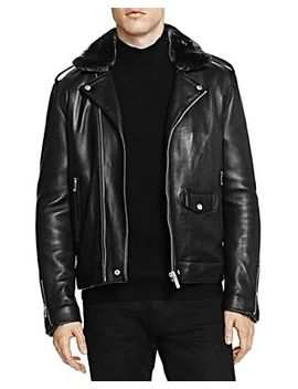 leather-jacket-with-faux-fur-collar by the-kooples