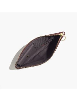 the-leather-pouch-clutch:-madewell-icons-edition by madewell