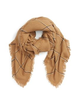 check-blanket-scarf by girly