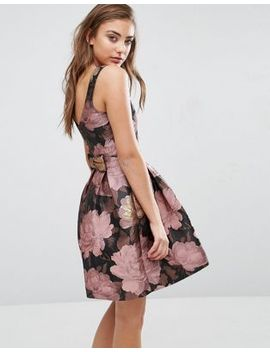 miss-selfridge-bow-back-floral-dress by miss-selfridge