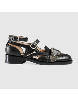 queercore-brogue-monk-shoe by gucci