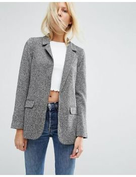 asos-textured-jersey-blazer by asos-collection