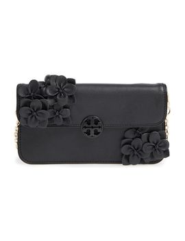 flower-leather-envelope-clutch by tory-burch