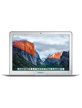 apple-macbook-air-mmgf2b_a-133-inch-laptop-(silver)---(intel-core-i5-16-ghz,-8-gb-ram,-128-gb-ssd,-intel-hd-graphics-6000,-os-x-el-capitan)---2016---uk-keyboard by apple