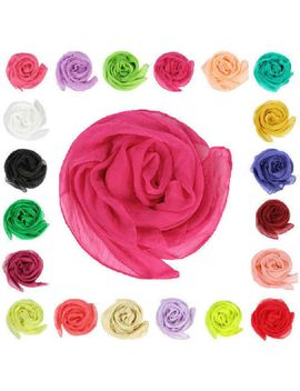 10-colors-fashion-soft-women-girls-chiffon-silk-slim-scarf-bandana-2016 by ebay-seller