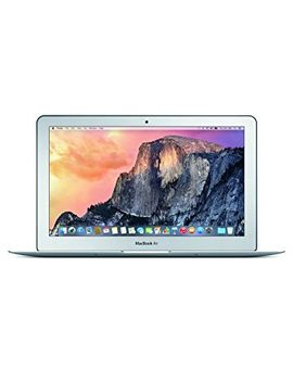 apple-macbook-air-11-inch-laptop-(intel-core-i5-16ghz,-4-gb-ram,-128-gb-ssd,-intel-hd,-os-x-yosemite)---silver---2015---mjvm2b_a---uk-keyboard by amazon