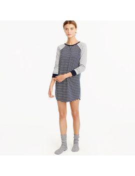 knit-nightshirt-in-mixed-stripe by jcrew