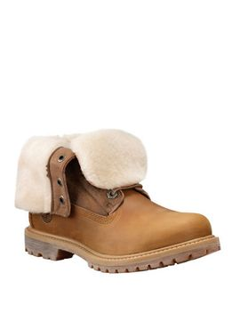 authentics-shearling-fold-down-boots by timberland