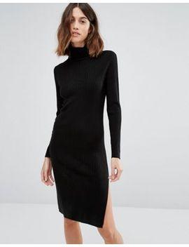 vero-moda-long-sleeve-rollneck-dress by vero-moda