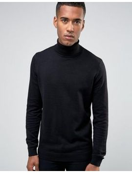 new-look-roll-neck-jumper-in-black by new-look