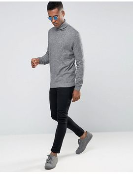 new-look-roll-neck-jumper-in-grey by new-look