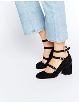 asos-sylvir-multi-buckle-heels by asos-collection